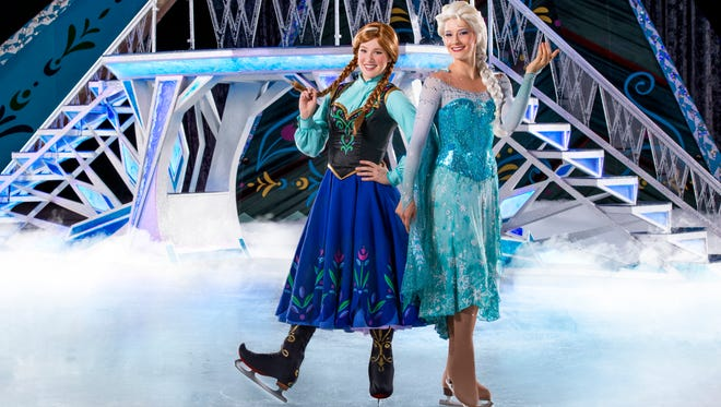 """Pictured are the cast of """"Disney on Ice presents Frozen,"""" which is coming to the Bon Secours Wellness Arena in June."""