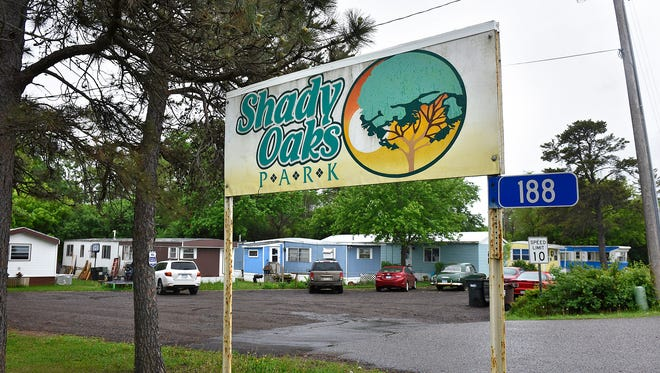 Shady Oaks Mobile Home Park is scheduled to close in August. Le Sauk Township officials have approved hiring a consultant to help with the relocation of residents.
