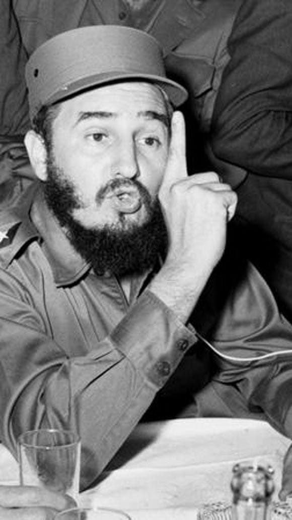 Cuban leader Fidel Castro may have thought he would