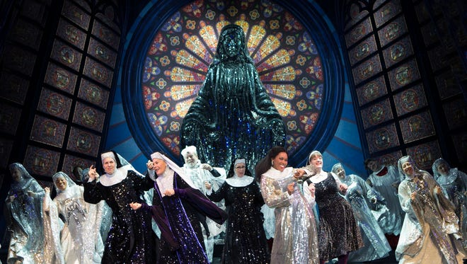 The Broadway touring company of Sister Act played the Auditorium Theatre last month.