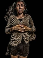 """""""Copper Girl,"""" by Camila Carvajal, Barron Collier High School junior, in the Schrenk Student Photography Exhibition"""