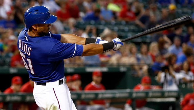 Alex Rios could be a great bargain as he aims to reestablish his value in 2015.