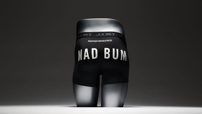 "Jockey unveils ""Mad Bum"" underwear supporting Madison Bumgarner's greatness."