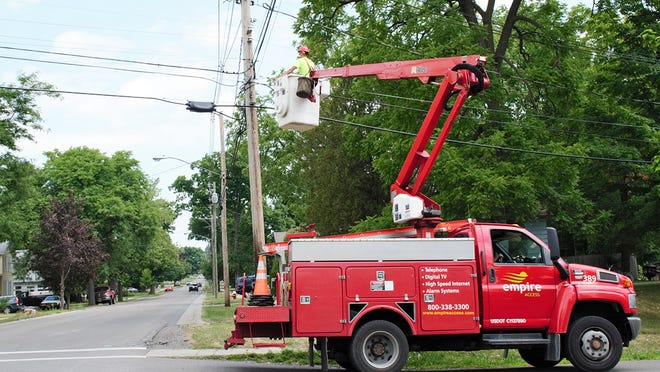 Empire Access is installing super high-speed fiber service in the Village of Dansville and surrounding areas.