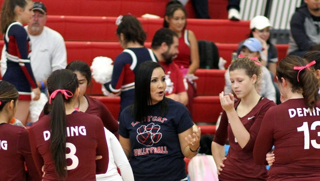 Deming High volleyball coach Imelda Chavez has the Lady Wildcats primed for a run at a District 3-5A title.