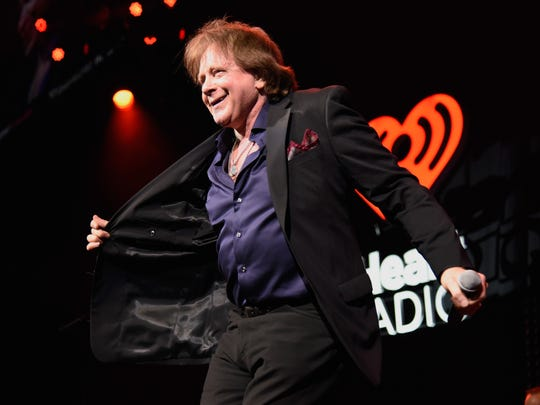 Eddie Money performs on stage during the iHeart80s Party in San Jose, California earlier this year.