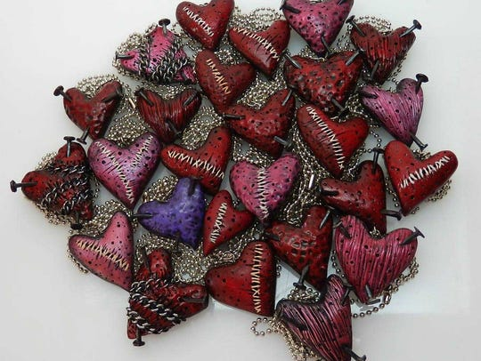 Jake Valentine's necklaces found their way into the