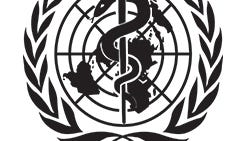The Age Friendly Community program is run through the World Health Organization, whose logo is shown here.