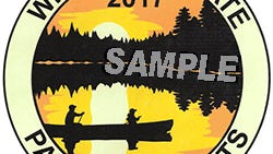 2017 winning design by Emily Olson, Canoe Scene