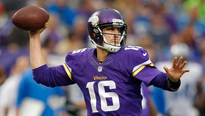 The Vikings experienced most of their success in 2013 with Matt Cassel under center.