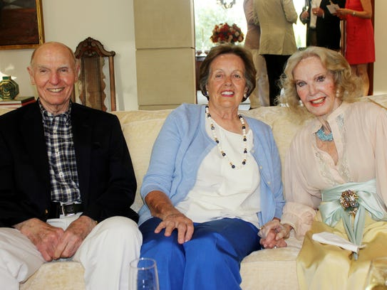 Rodes and Patricia Hart and Jane Dudley attend the