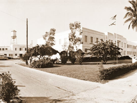 The Martin County Courthouse and Jail
