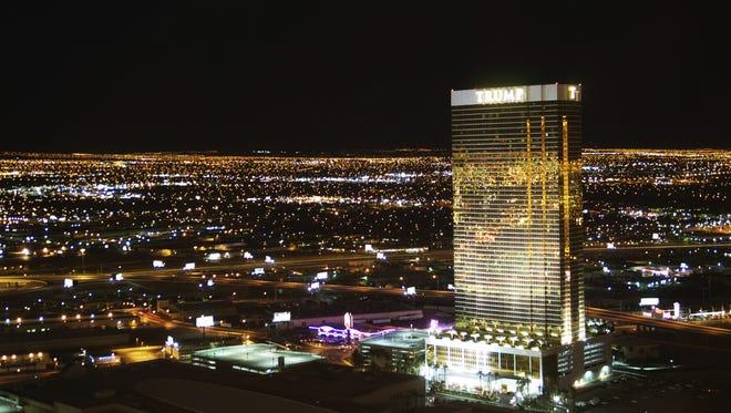 Trump Hotel in Las Vegas.