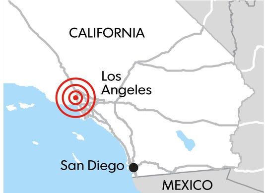 CA quake promo art