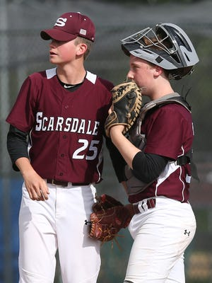 Arlington and Scarsdale in Section 1 baseball playoffs at Arlington High School in LaGrangeville May 24, 20173