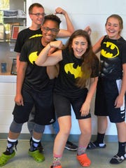 Wisconsin Valley Lutheran High School students wore matching outfits for Twin Day during homecoming week.
