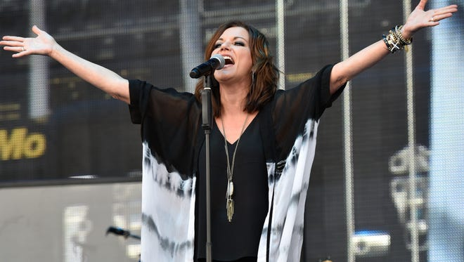 Martina McBride performs at LakeShake at FirstMerit Bank Pavilion at Northerly Island on Saturday, June 18, 2016, in Chicago.