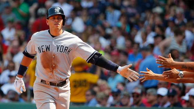 Alex Rodriguez had hit No. 3,020 to move into the top 25 on baseball's all-time list.