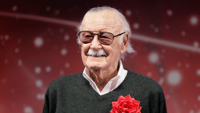 Stan Lee tells ABC7 he is 'feeling great' after spending time in the hospital.