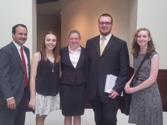 Four Lincoln high-schoolers made the finals in the state moot court competition.