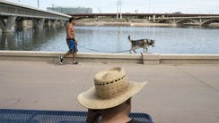 To celebrate the reopening of Tempe Town Lake, the