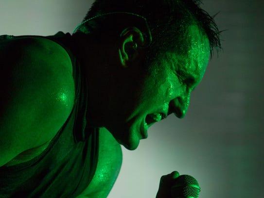 Trent Reznor at Lollapalooza