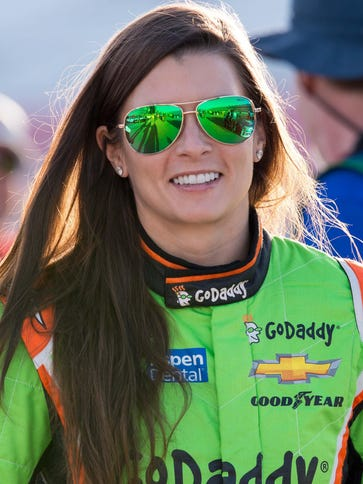 Danica Patrick has not had to endure a ''silly season''