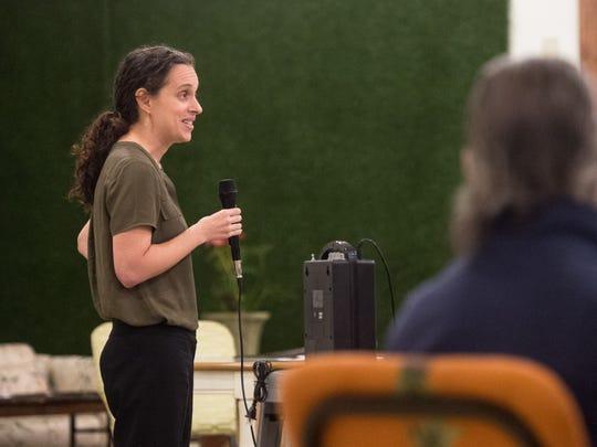 Lauren Baer, a Democrat from Palm Beach Gardens who