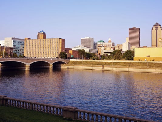 City of Des Moines skyline