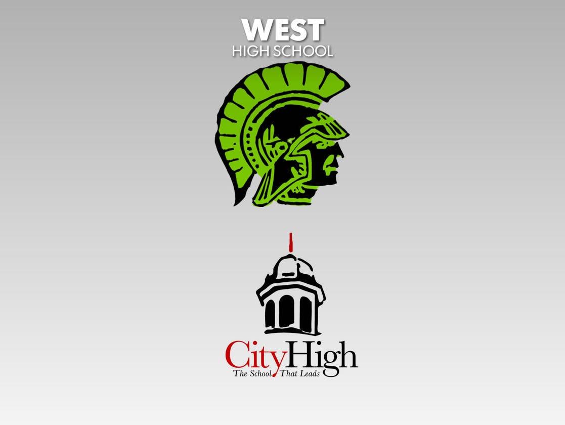 West High School and City High School