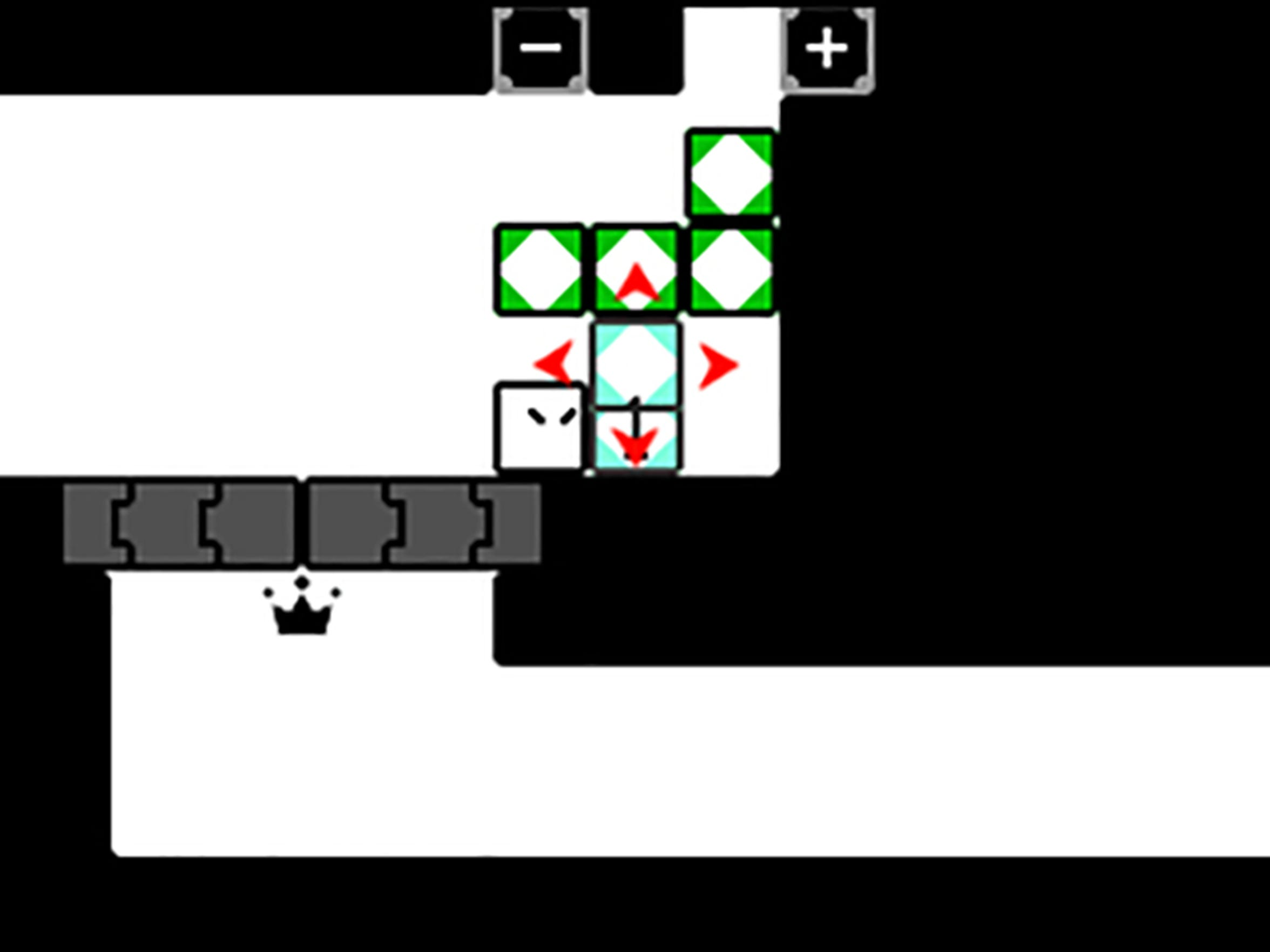 Qbby gains new abilities in BoxBoxBoy!