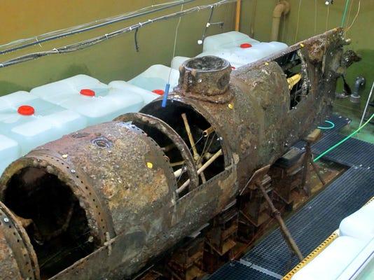 Confederate Submarine (2)