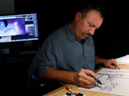 "Ralph Eggleston, production designer for ""Incredibles"