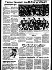 BC Sports History: Week of Nov. 17, 1976