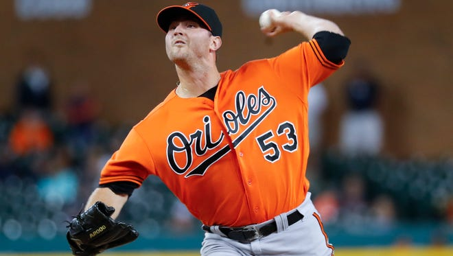 Zach Britton. AP FILE PHOTO