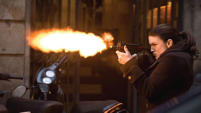 Gina Carano stars in Relativity Media's HAYWIRE.    ©2011 Five Continents Imports, LLC. All Rights Reserved.