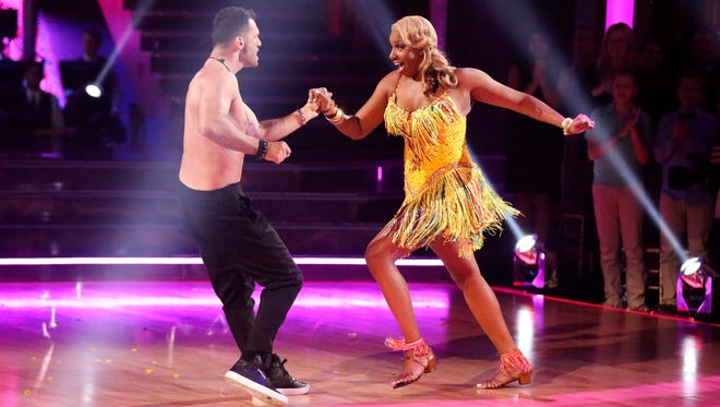 NeNe Leakes and Tony Dovolani on week six of 'Dancing With the Stars.'
