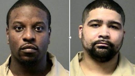 Rashawn Carter, left, and Gilberto Villanueva on Tuesday lost appeals seeking to overturn murder convictions.