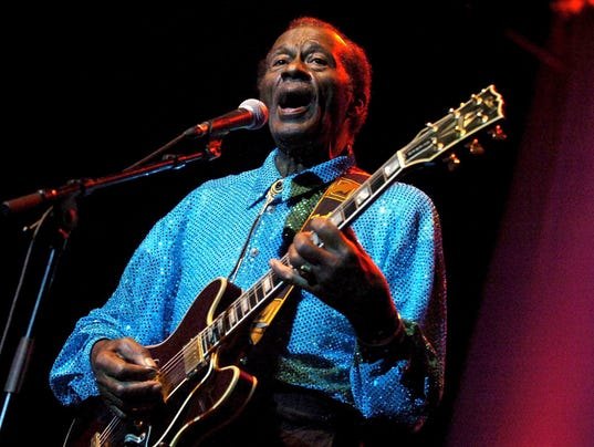EPA (FILE) SWITZERLAND CHUCK BERRY OBIT ACE MUSIC SWI