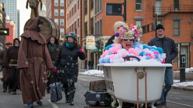 Bockfest parade in 2015.