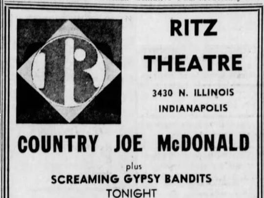 This ad appeared in The Indianapolis Star in 1972.