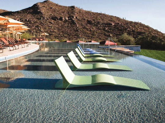 At the Ritz-Carlton Dove Mountain resort, the in-the-water