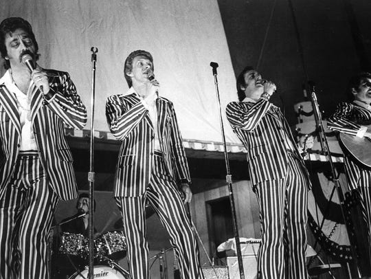 Oh, those famous striped suits on the Statler Brothers