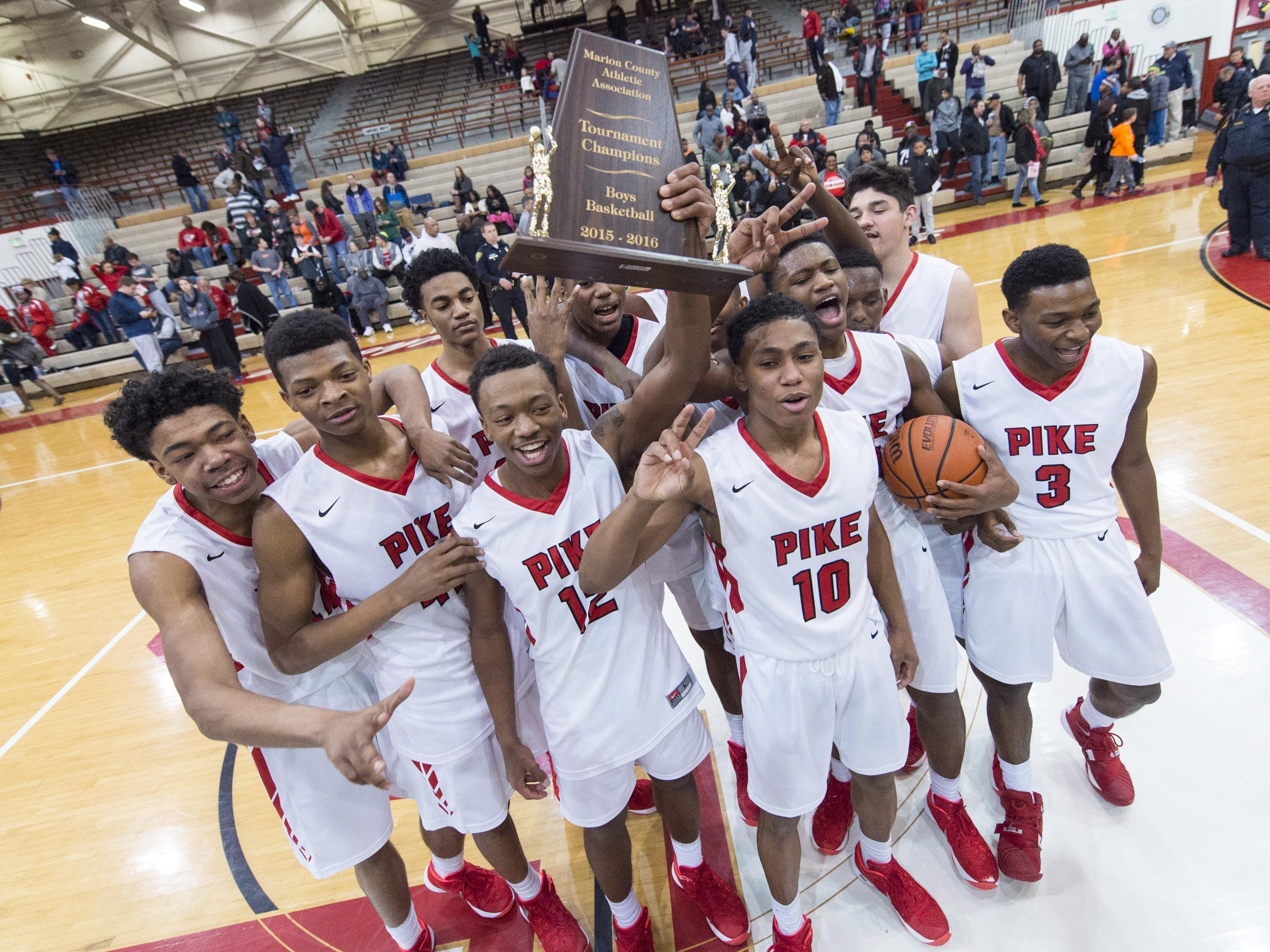 Pike wins Marion County tournament on buzzer-beater   USA TODAY High School Sports