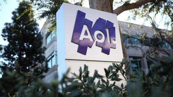 Verizon announces a  $4.4 billion purchase of AOL.