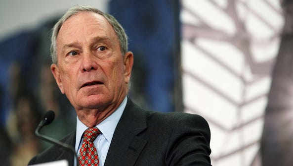 Former New York City Mayor Michael Bloomberg has become