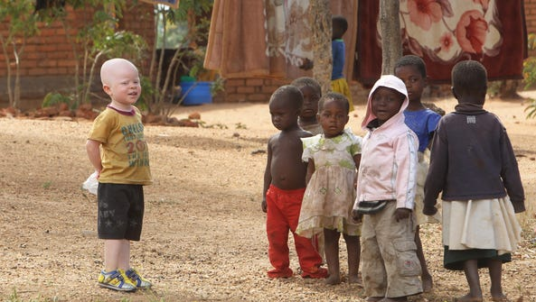 Cassim Jaffalie,3, stands with his friends at their