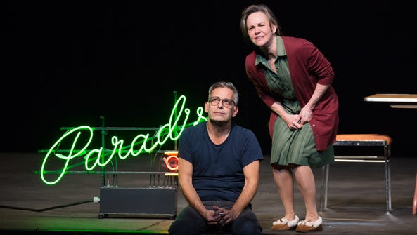 """Joe Mantello and Sally Field  in """"The Glass Menagerie."""""""