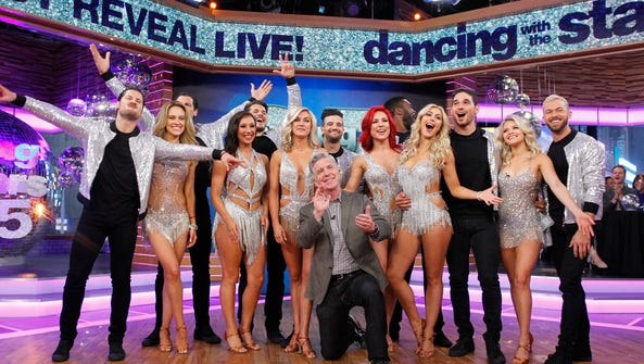 Season 25 of 'Dancing with the Stars' premieres Monday.
