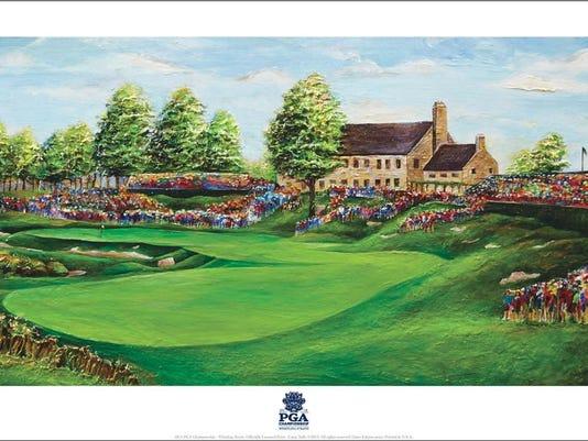 Cassy Tully 2015 PGA Print